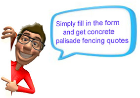 Concrete Palisade Fencing Quotes