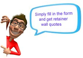 Retainer Wall Quotes