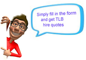 TLB Hire Quotes